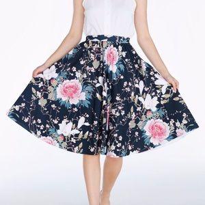 1567b869497e39 Blackmilk Skirts | Reserved Trade Jaidels Bm Hide Peak Midi Skirt ...